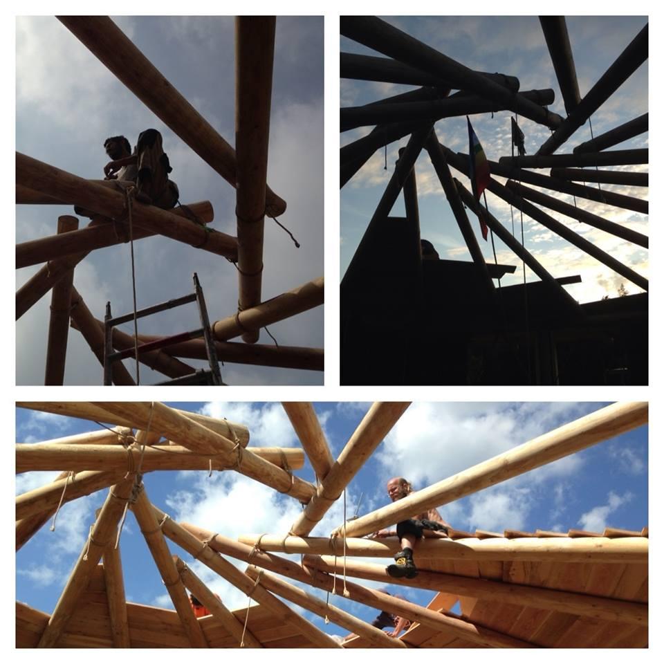 Het reciprocale dak