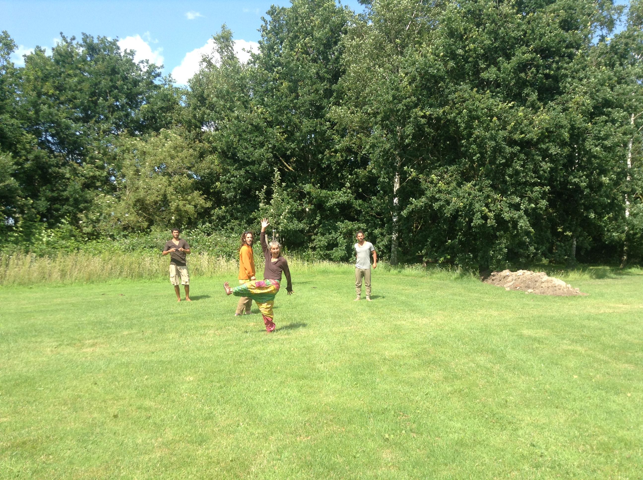 Hier komen de yurts