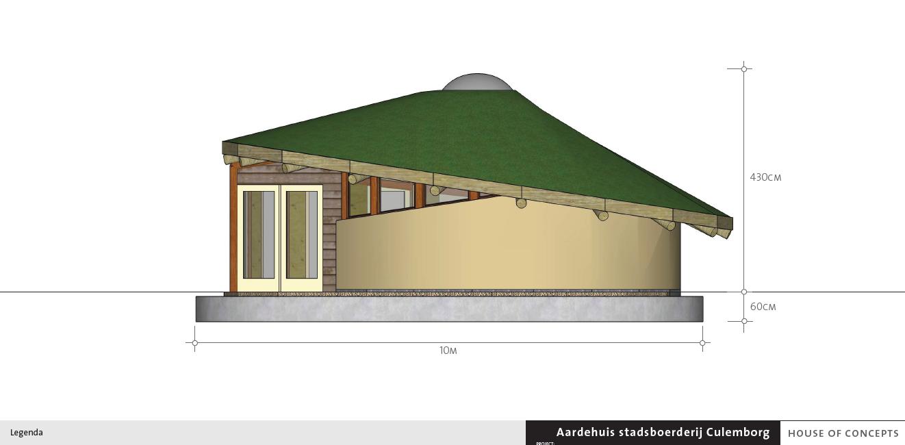 Ecohuis Culemborg - ontwerp door House of Concepts